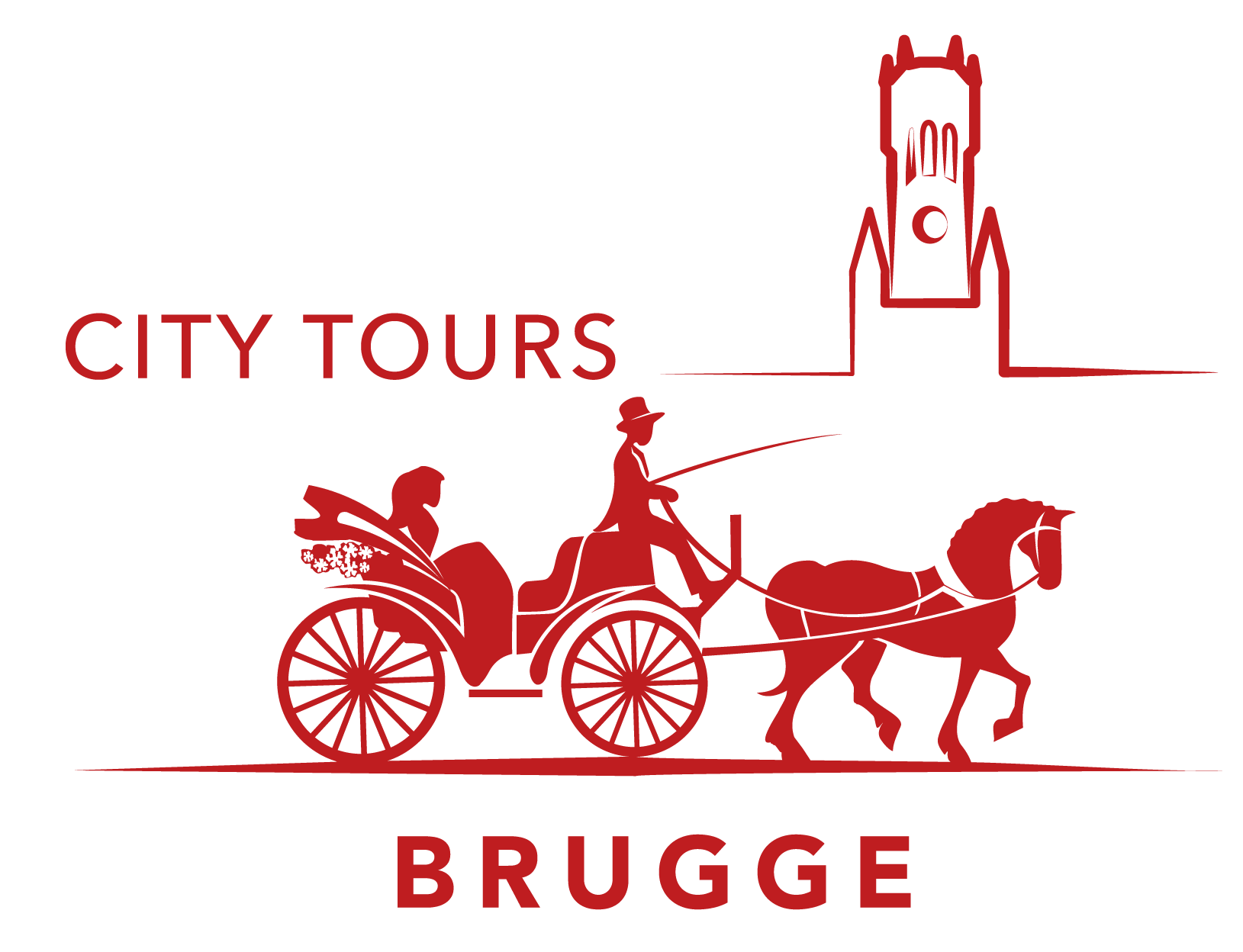 Sight-seeing Bruges in carriage