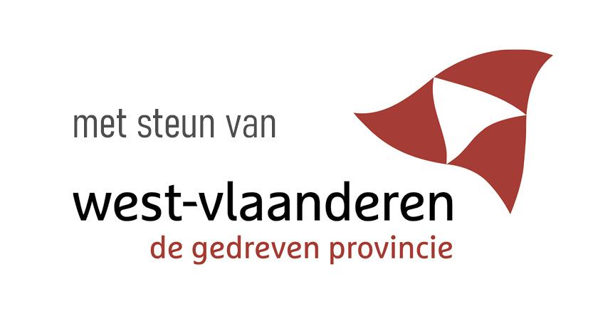 Met steun van de Provincie West-Vlaanderen